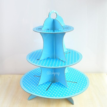 Cupcake Stand -Light Blue image