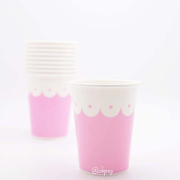 Paper Cup-Scallops Light Pink image