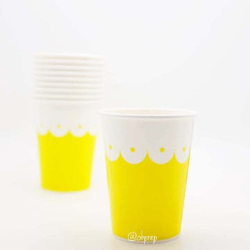 Paper Cup-Scallops Yellow image