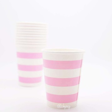 Paper Cup-Stripes  Light Pink image