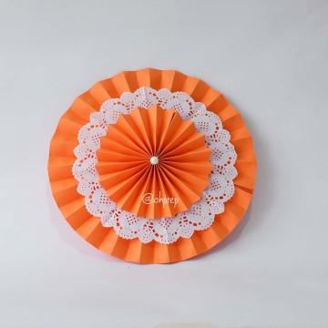 Paper Lotus Orange image