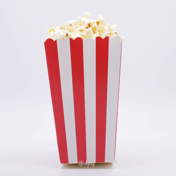 Popcorn Box Stripes Red image
