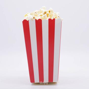 Popcorn Box Stripes Red image