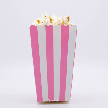 Popcorn Box Stripes Pink image
