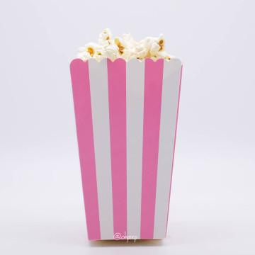 Popcorn Box Stripes Pink image