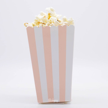 Popcorn Box Stripes Peach image