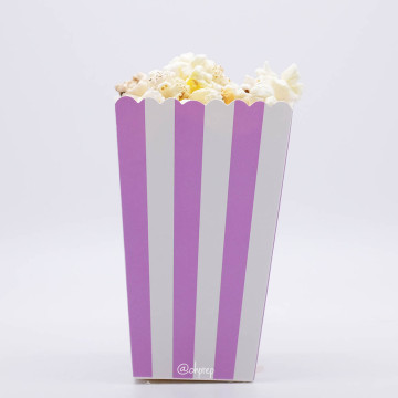 Popcorn Box Stripes Light Purple image