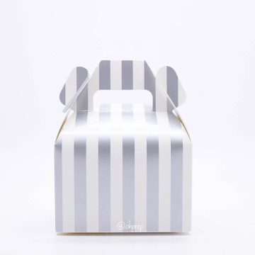 Gable Box Stripes Silver image