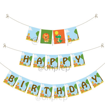 Birthday Banner Animal Kingdom image