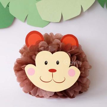 Pompom Character - Monkey image