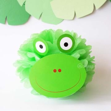 Pompom Character - Frog image