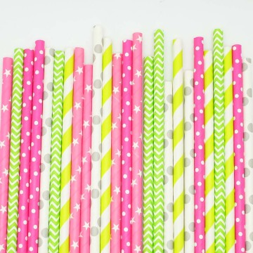 Paper Straws Merry & Bright image