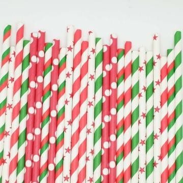 Paper Straws O Christmas Tree image