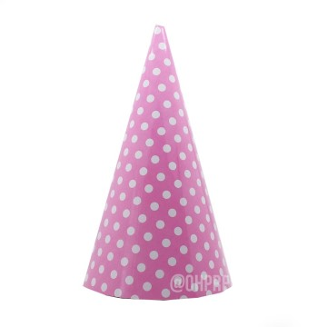 Party Hat Polkadot Light Pink image
