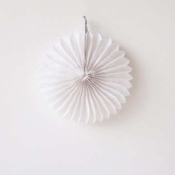 Paper Fan White image