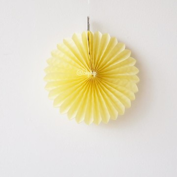 Paper Fan Yellow image
