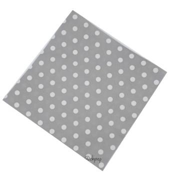 Paper Napkin Polkadot Gray image