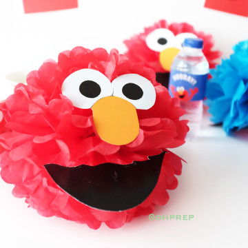 Pompom Character - Elmo image