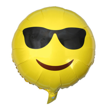 Emoji Foil Balloon - Cool image