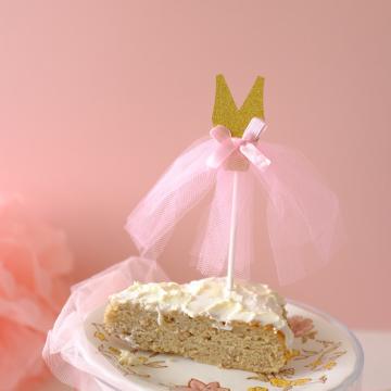 Cake Topper - Miss Glitter image