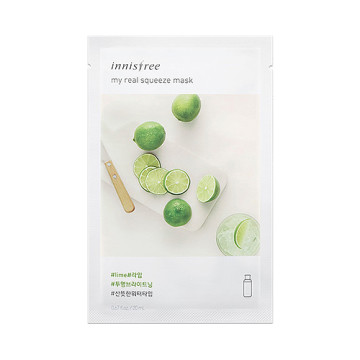 Innisfree My Real Squeeze Mask [Lime] 20ML image