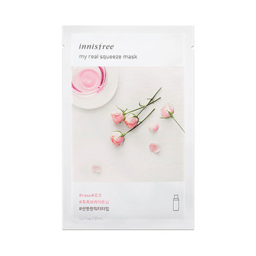 Innisfree My Real Squeeze Mask [Rose] 20ML image