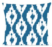 Modern Ikat Blue