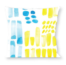 Abstract Blue Yellow #2