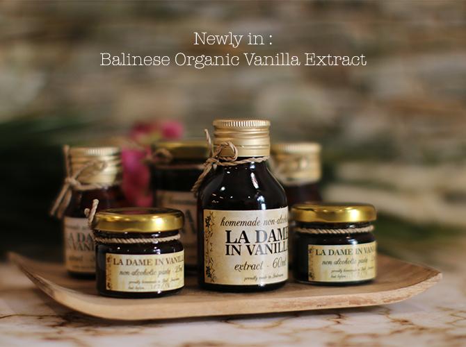 Balinese Organic Vanilla Extract