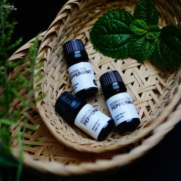 2018 GOODVIBES ESSENTIAL OIL PEPPERMINT 5ML image