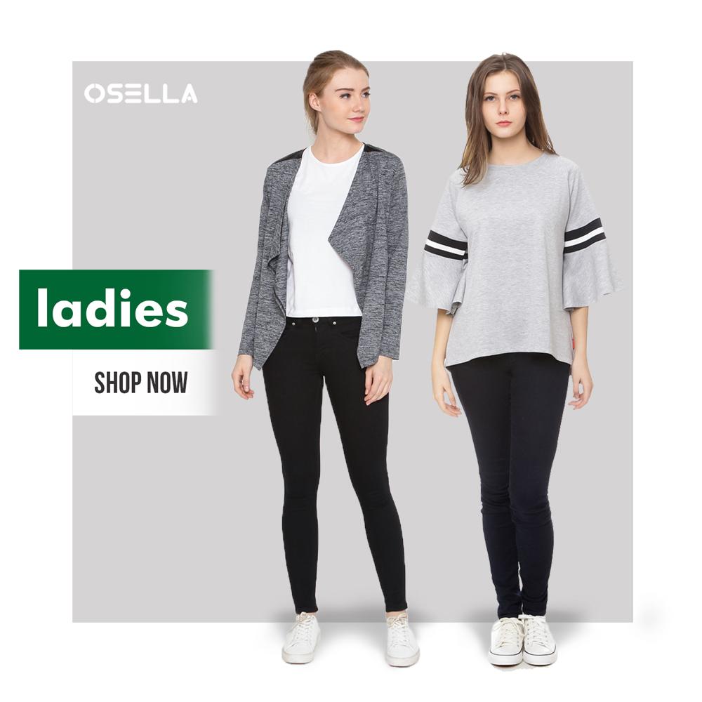 Osella Blouse Baju Kantor Wanita Follow Our Instagram