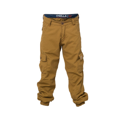 PANTS LONG CANVAS TXC 1053 BROWN Smoke Brown