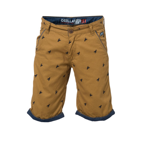 PANTS BOXER HORSE BROWN 3/4 Tobbaco Brown