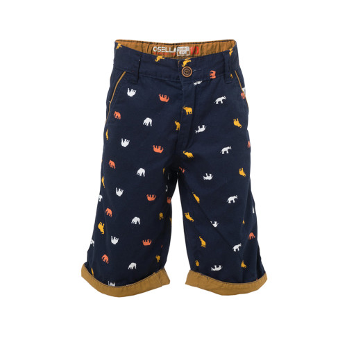 PANTS BOXER ELEPHANT NAVY 3/4 Navy