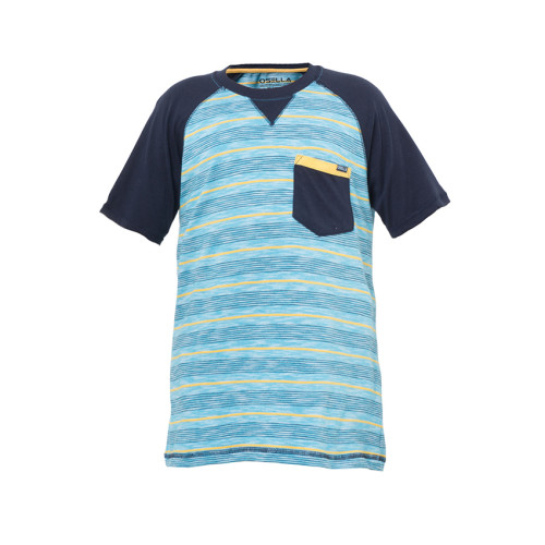 T-SHIRT STRIPE BLUE KANTONG NAVY Blue