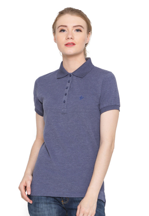Osella Woman Polo Shirt Ladies Misty  Indigo