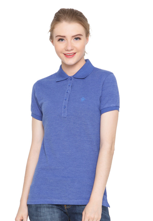 Osella Woman Polo Shirt Ladies Misty  Royal Blue