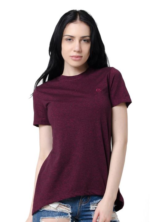 Osella Woman Osella Ladies T-Shirt Siro Oxblood