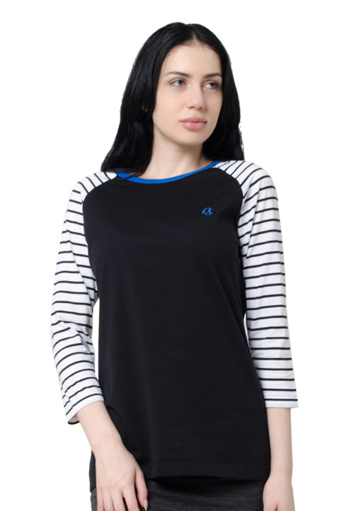 Osella Woman Sweater Stripe Blue