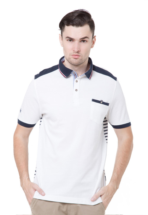 Arnett T-shirt Fashion white komb salur White