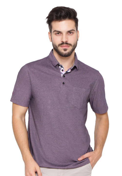 Arnett Polo shirt fashion kantong tempel Pebble