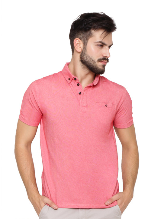 Arnett POLO SHIRT FASHION KOMB CHAMBRAY Red