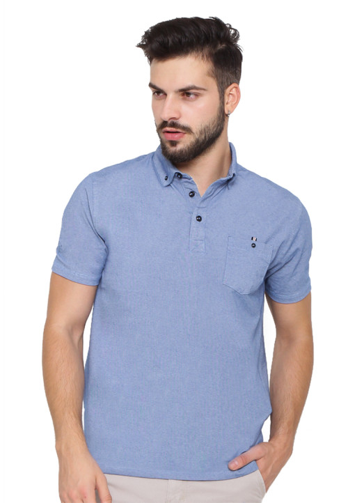 Arnett POLO SHIRT FASHION KOMB SALUR Blue