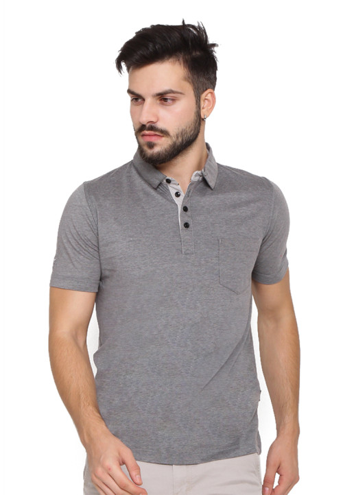 Arnett POLO SHIRT FASHION KANTONG TEMPEL Misty 81