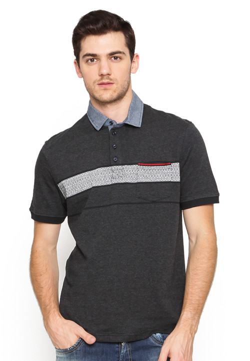 Arnett POLO SHIRT FASHION KOMB SALUR MISTY Misty 71