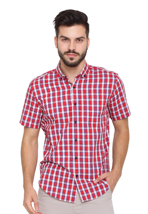 Arnett SHIRT SHORT HKS KID COL 1 Red