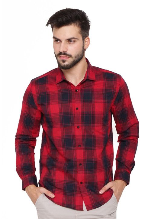 Arnett SHIRT LONG BT 8337 Red