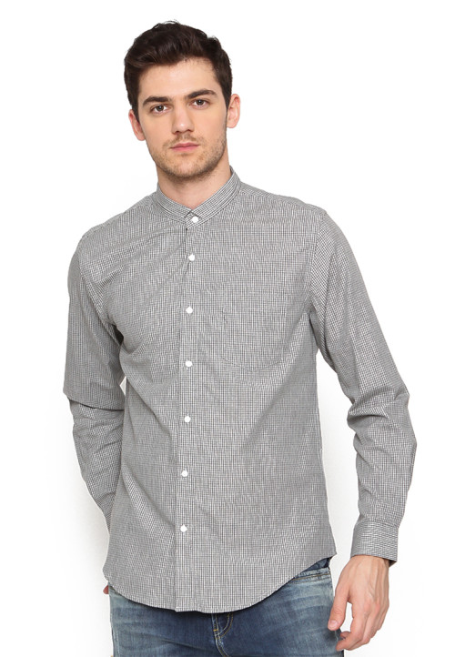 Arnett SHIRT LONG KOKO GREY (FLX A) Grey