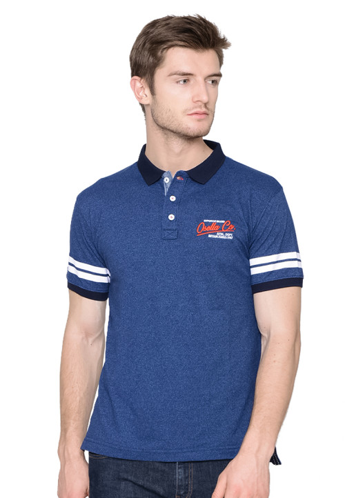 Osella Man polo shirt fashion man siro navy Navy