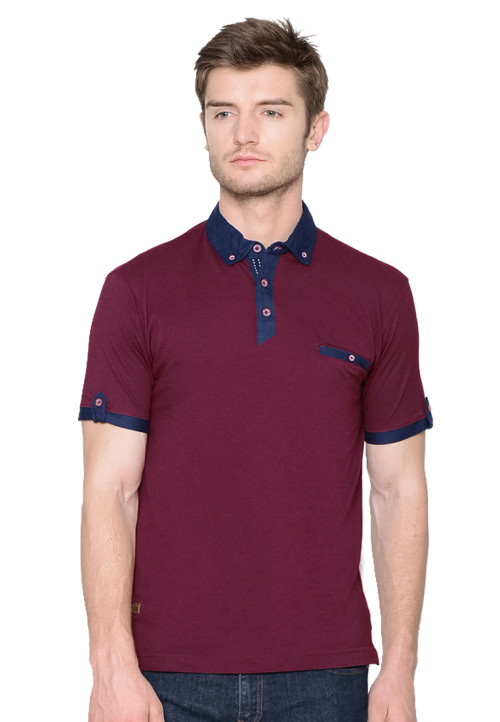 Osella Man polo shirt fashion man siro burgundy Burgundy